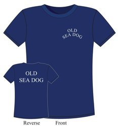 "T-SHIRT ŻEGLARSKI ""OLD SEA DOG"" 6375"