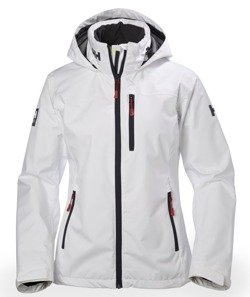 Kurtka HELLY HANSEN W CREW HOODED JKT 33899 WHITE