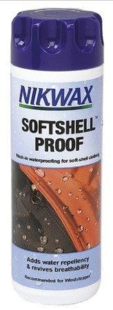 NIKWAX SOFTSHELL PROOF™ 300ml IMPREGNAT DO ODZIEŻY